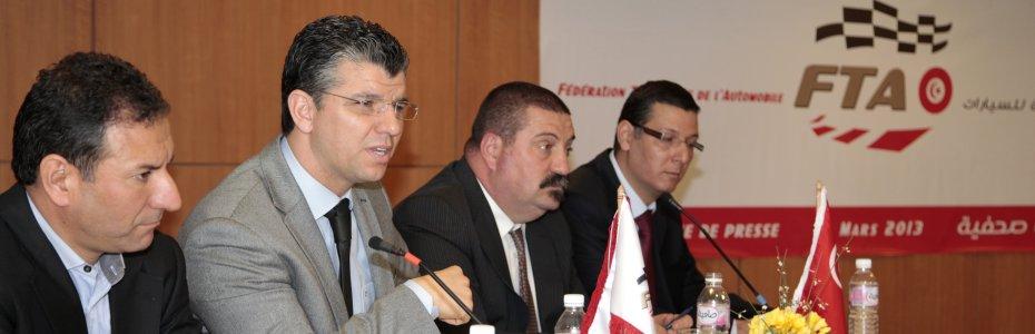 Conférence de presse le 19/03/2013 à Novotel Tunis