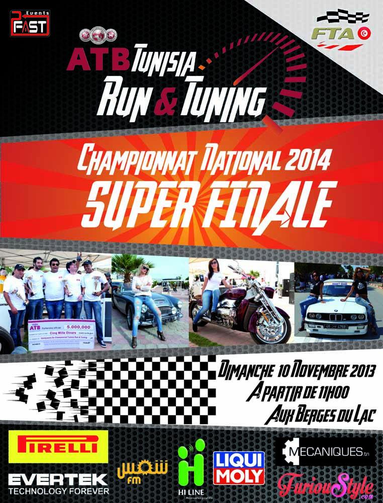 Tunisia Run&Tuning 2013 la finale