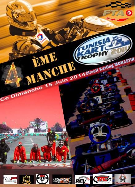 4ème Manche de Tunisia Kart Trophy 2014
