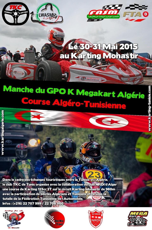 Evénement Karting Algéro-Tunisien et manche du GPO K MegaKart d'Algérie
