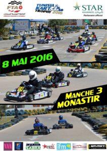 Manche 3 – Tunisia Kart Trophy 2016