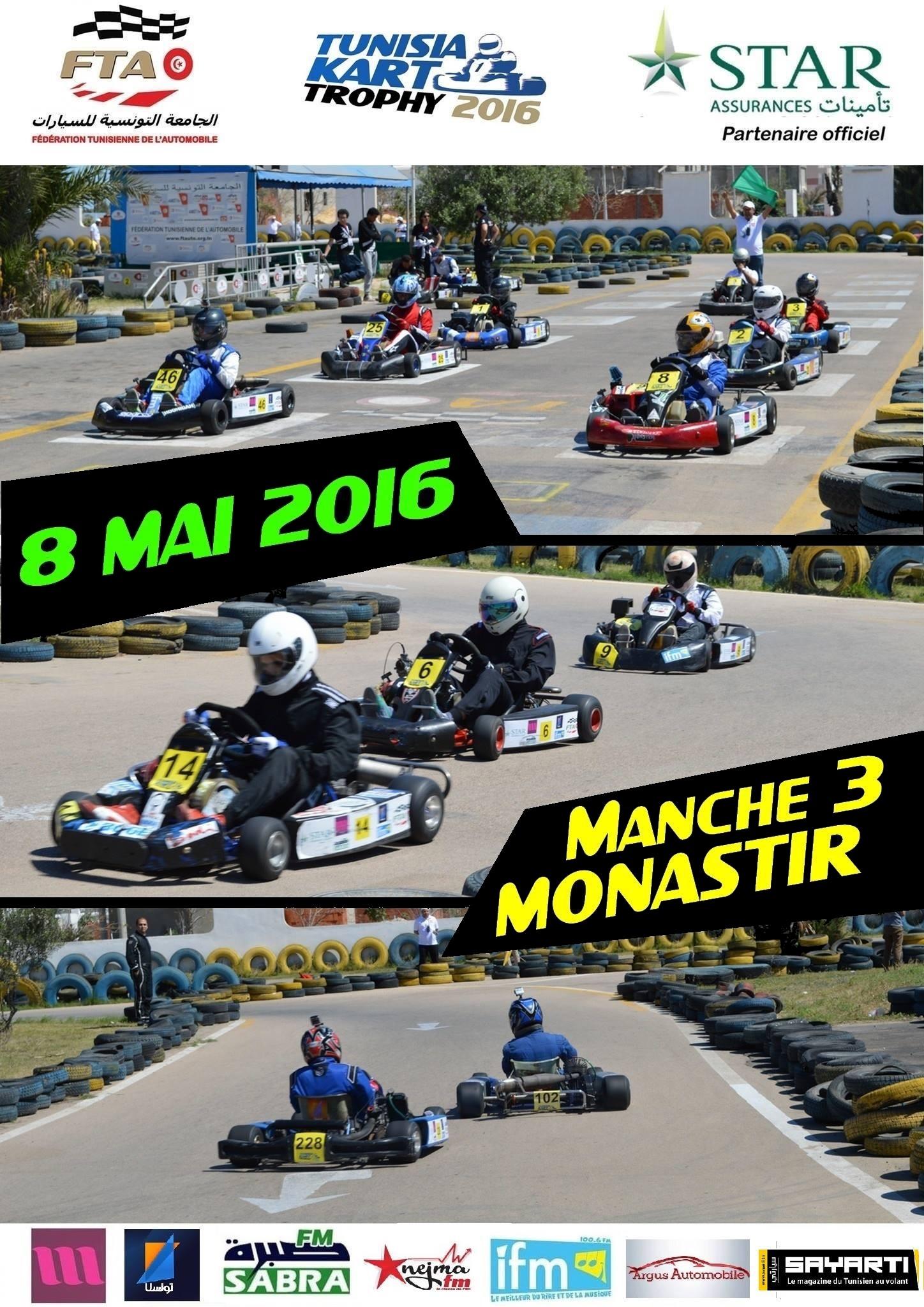 1 affiche karting Manche 3 2016 v3