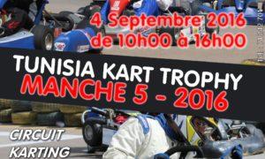 Manche 5 – Tunisia Kart Trophy 2016
