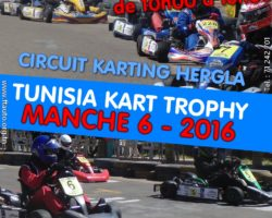 Manche 6 – Tunisia Kart Trophy 2016