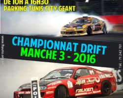 Manche 3 – Championnat de Drift Tunisie