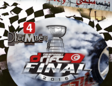 La Finale du championnat Drift Tunisie 2016