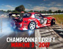 Manche 3 – Championnat Drift Tunisie 2017