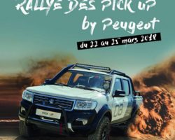 Rally des pickup by Peugeot du 22 au 25 mars 2018