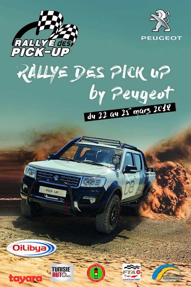 Rally des pickup by Peugeot du 22 au 25 mars 2018