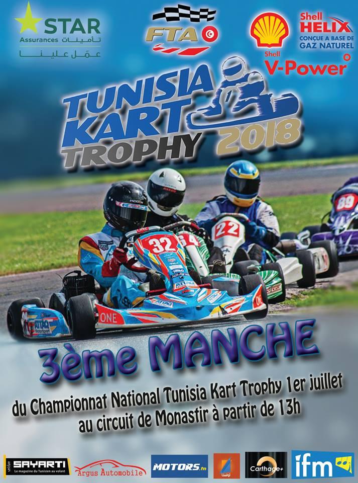 Manche 3 – Tunisia Kart Trophy 2018