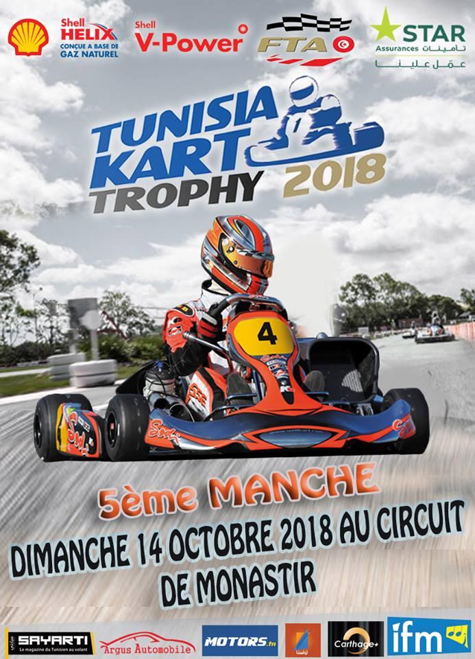 Manche 5 – Tunisia Kart Trophy 2018