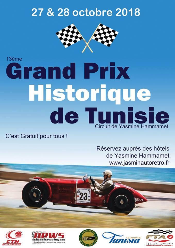 Grand Prix Historique de Tunisie 2018
