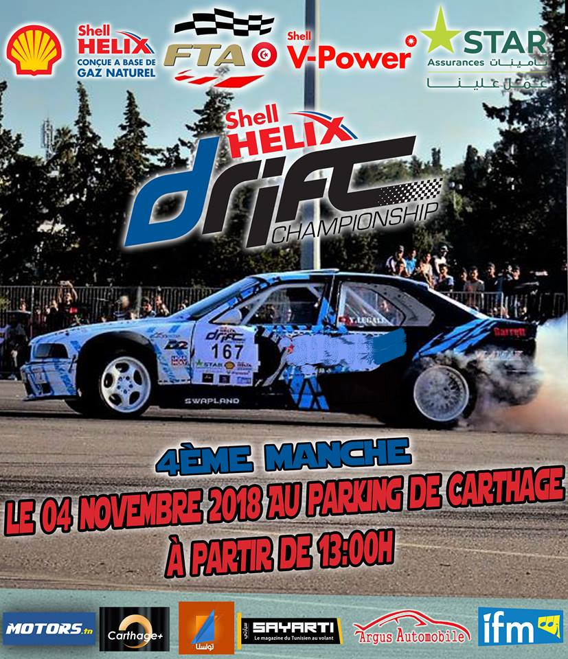 Manche 4 – Shell Helix Drift Championship 2018