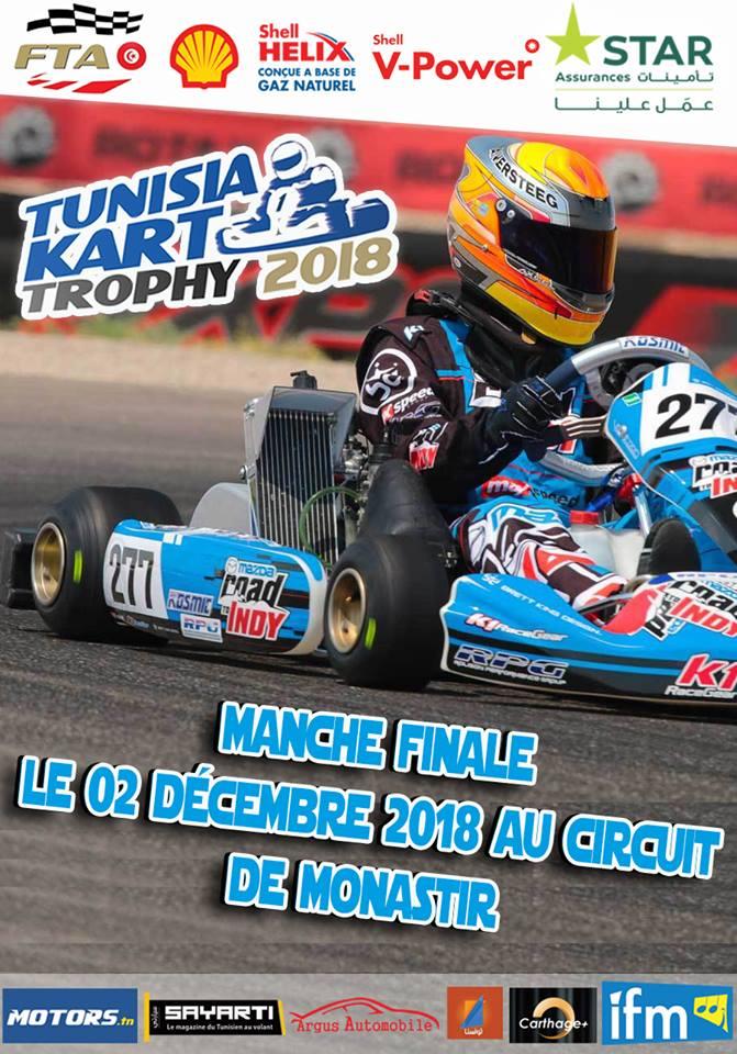 Manche Finale – Tunisia Kart Trophy 2018