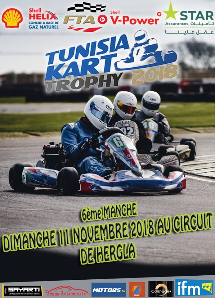 Manche 6 – Tunisia Kart Trophy 2018