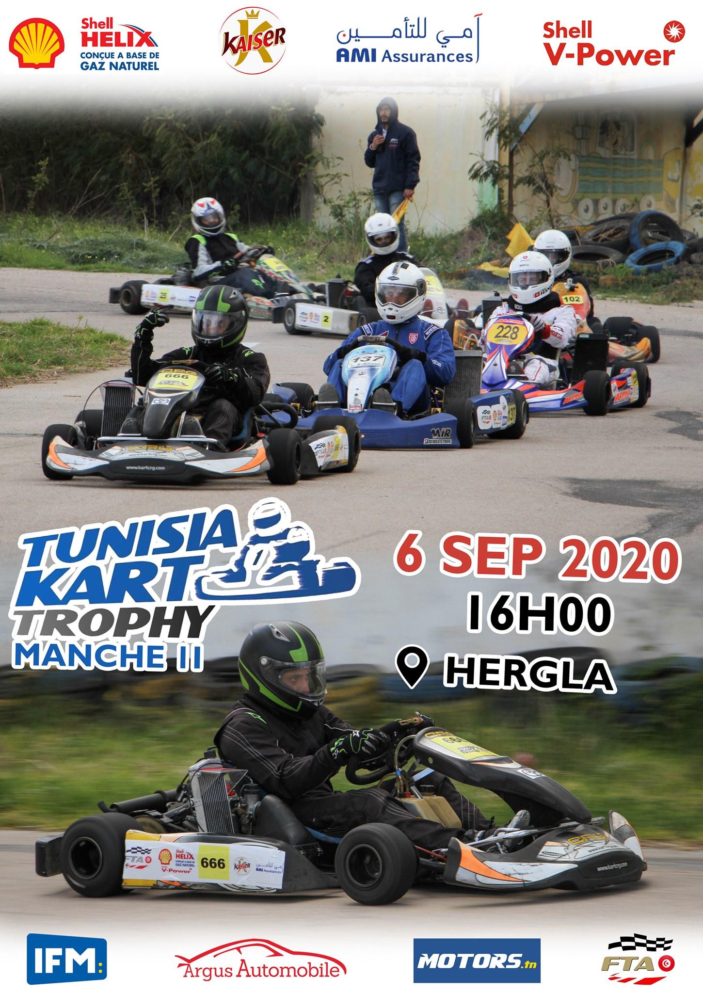 Manche 2 – Tunisia Kart Trophy 2020