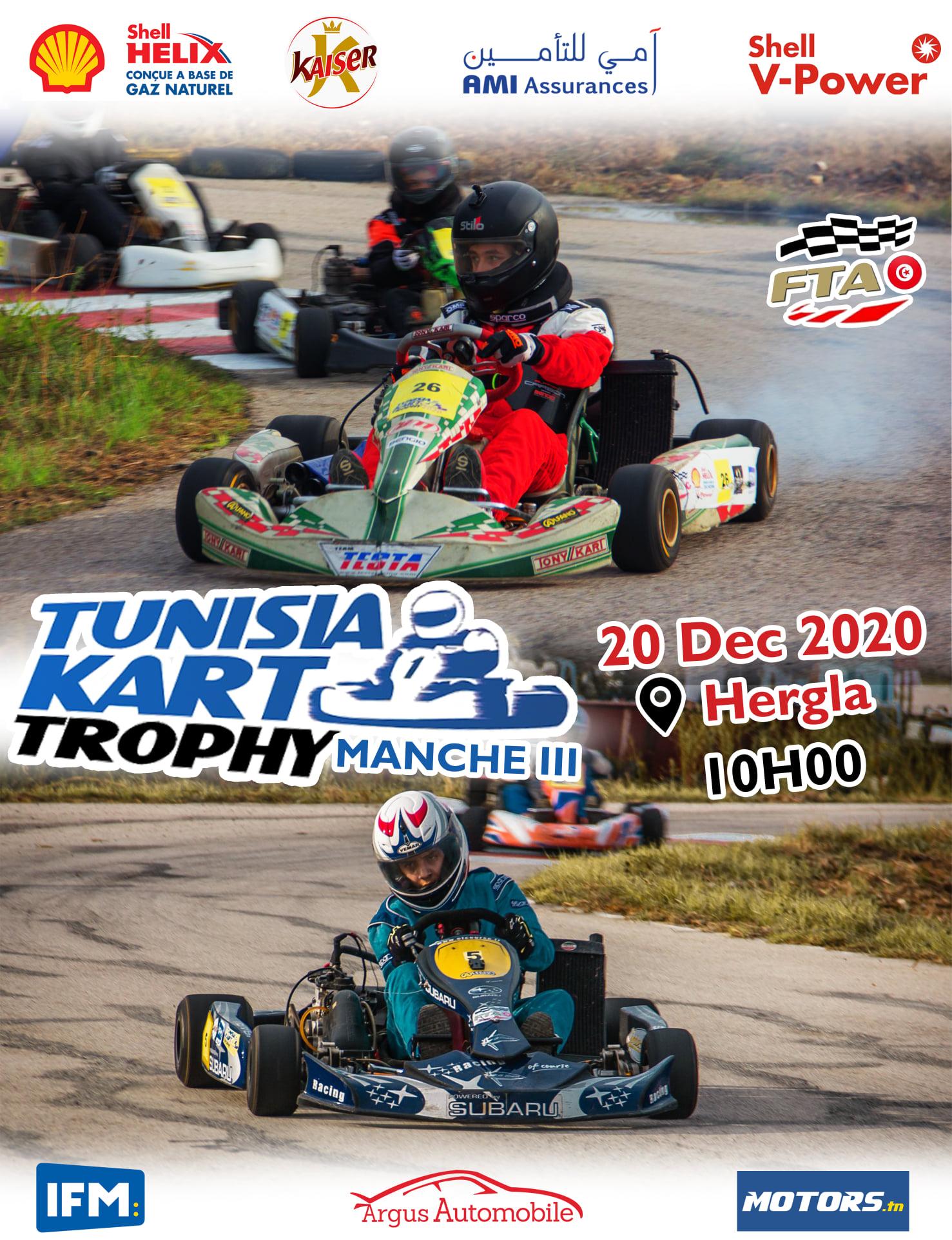 Manche 3 – Tunisia Kart Trophy 2020