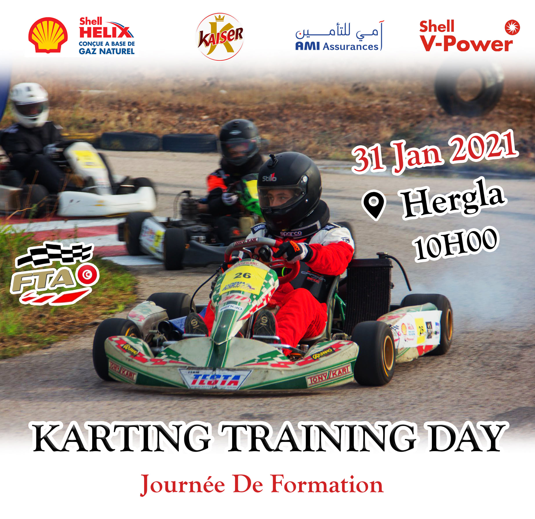 Karting Training Day – Première édition
