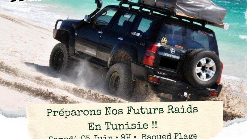 Off Road Training Day – 5 juin 2021, Raouad Plage